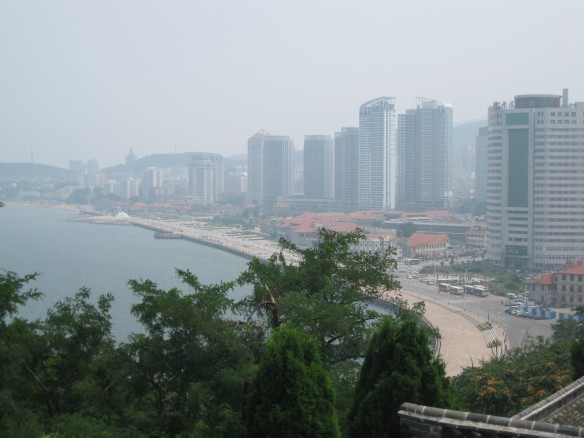 Yantai: You have to excuse the haze . . . that's just China.