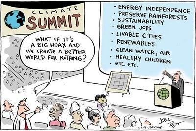 Climate Summit cartoon